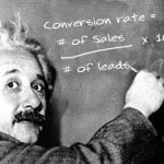 Image of Einstein - How to calculate conversion rate and lead value